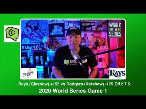 Tampa Bay Rays vs Los Angeles Dodgers World Series Game 1 Tuesday 10/20/20 MLB Picks & Predictions