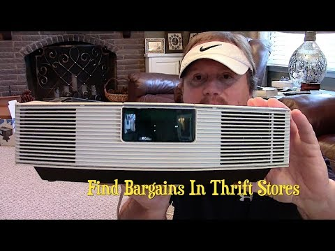 Bose Wave Radio ~ Bargain Hunting In Thrift Stores