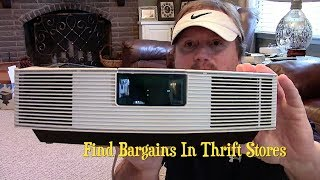 Bose Wave Radio Bargain Hunting In Thrift Stores
