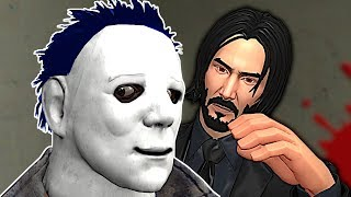 Michael Myers Tried Being a Good Guy! - Garry's Mod Gameplay - Gmod Homicide Gamemode