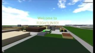 Roblox FLIGHTLIN3D - Turkish Airlines A330 Landing