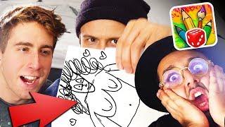 Wir TESTEN die Zeichen-App! ft Dima & Danergy