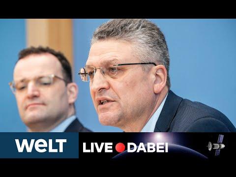 CORONAVIRUS IN DEUTSCHLAND: RKI-Chef Lothar Wieler Und Jens Spahn Zur Aktuellen Covid-19-Lage