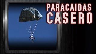 Como hacer un impresionante paracaídas casero