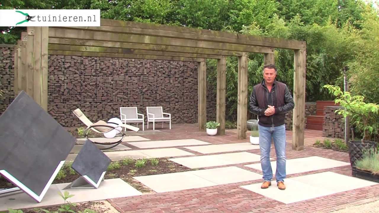 Zelf Tuin Aanleggen : Minimalistische strakke tuin aanleggen tuinieren youtube