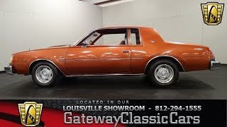 1978 Buick Regal Sport Coupe -  Louisville Showroom -  Stock # 1158