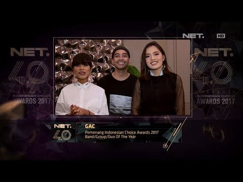 Band/Group/Duo of the Year - Indonesian Choice Awards 2017: GAC