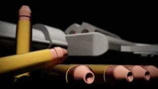 3D autocad gun render