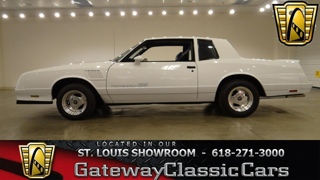 1984 Chevrolet Monte Carlo SS - Gateway Classic Cars St  Louis - #6276