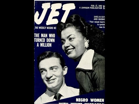 Jet 1952: Negro Women and Their White Husbands