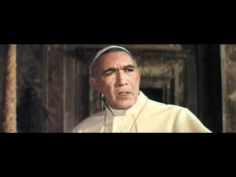 The Shoes of the Fisherman Official Trailer #1 - Anthony Quinn Movie (1968) HD