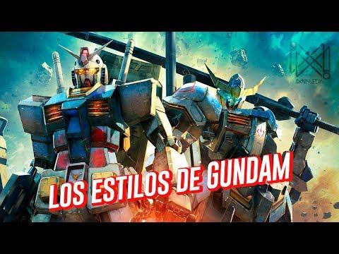 La Evolución de los Gundam: Una historia del icónico diseño mecánico