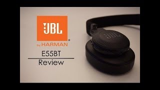 JBL E55BT Bluetooth Headphones - Review and Unboxing