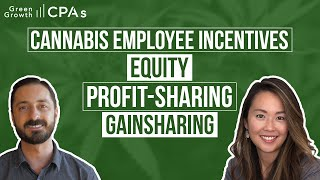 Cannabis Business Employee Incentives: Startup Equity, Profit-Sharing, Gainsharing