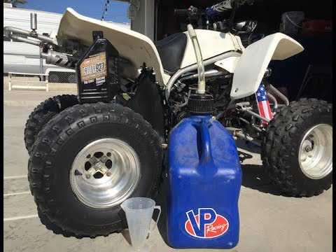 TECH TIP** USE THIS 2 STROKE OIL FOR YOUR QUAD!