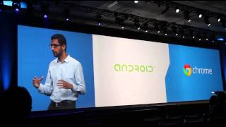 Sundar Pichai talks with Intel about their partnership, Chrome OS, Android, and the future