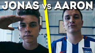 Fussball Challenge MIT BESTRAFUNG! Jonas vs Aaron