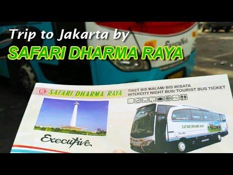 Pertama kali nyobain bus OBL :D | Trip report Jogja—Jakarta by Safari Dharma Raya #1