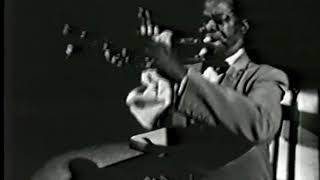 Louis Armstrong - Nobody Knows the Trouble I've Seen - Crescendo 1957