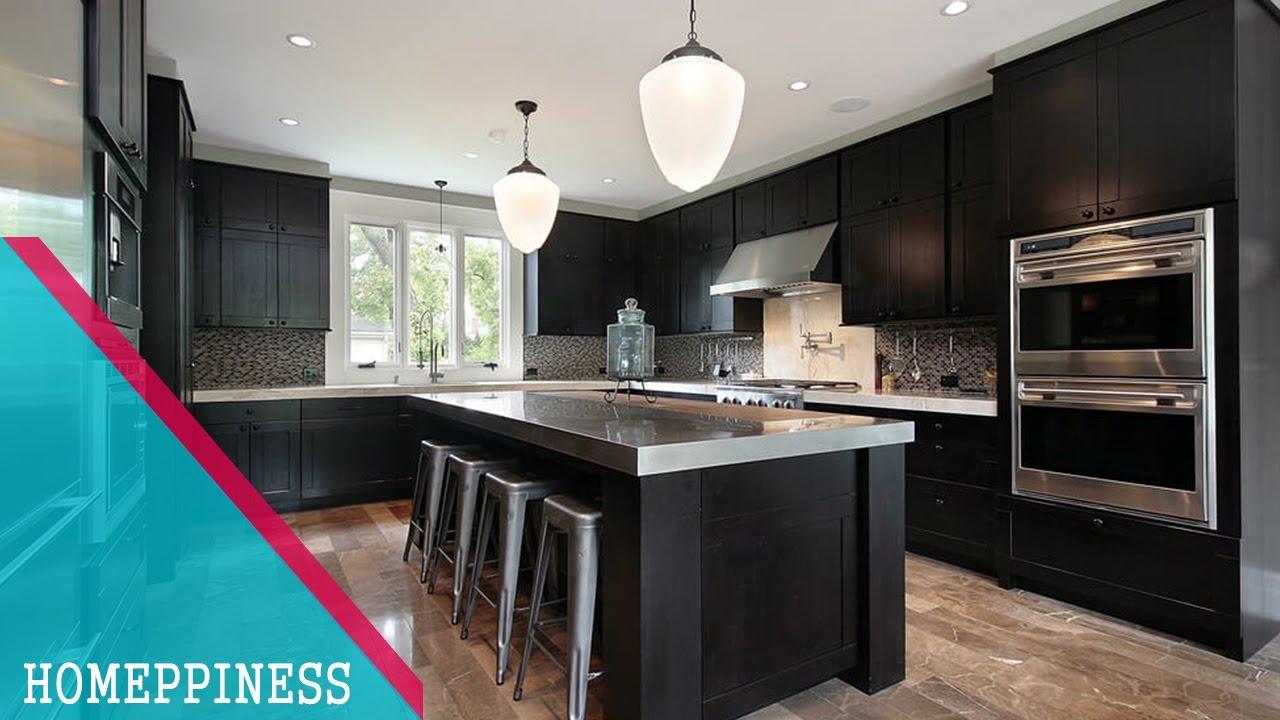 new design 2017) 20+ best wood kitchen cabinets ideas | black