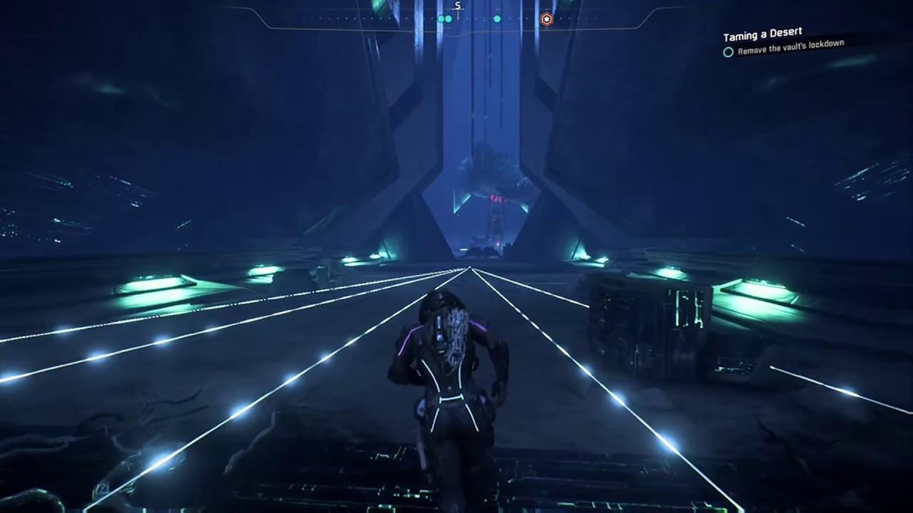 Elaaden Vault Puzzle Door Guide Mass Effect Andromeda Youtube