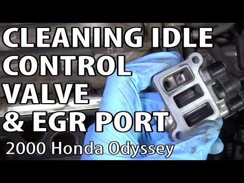 Honda Odyssey Idle Control Valve and EGR Port Cleaning (P0401)