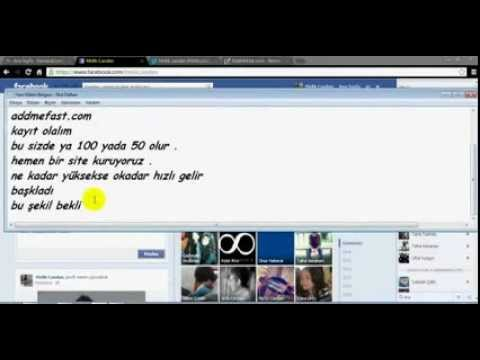 Facebook-Twitter-Youtube Hepsini Kasma  2013 %100 Kesin!