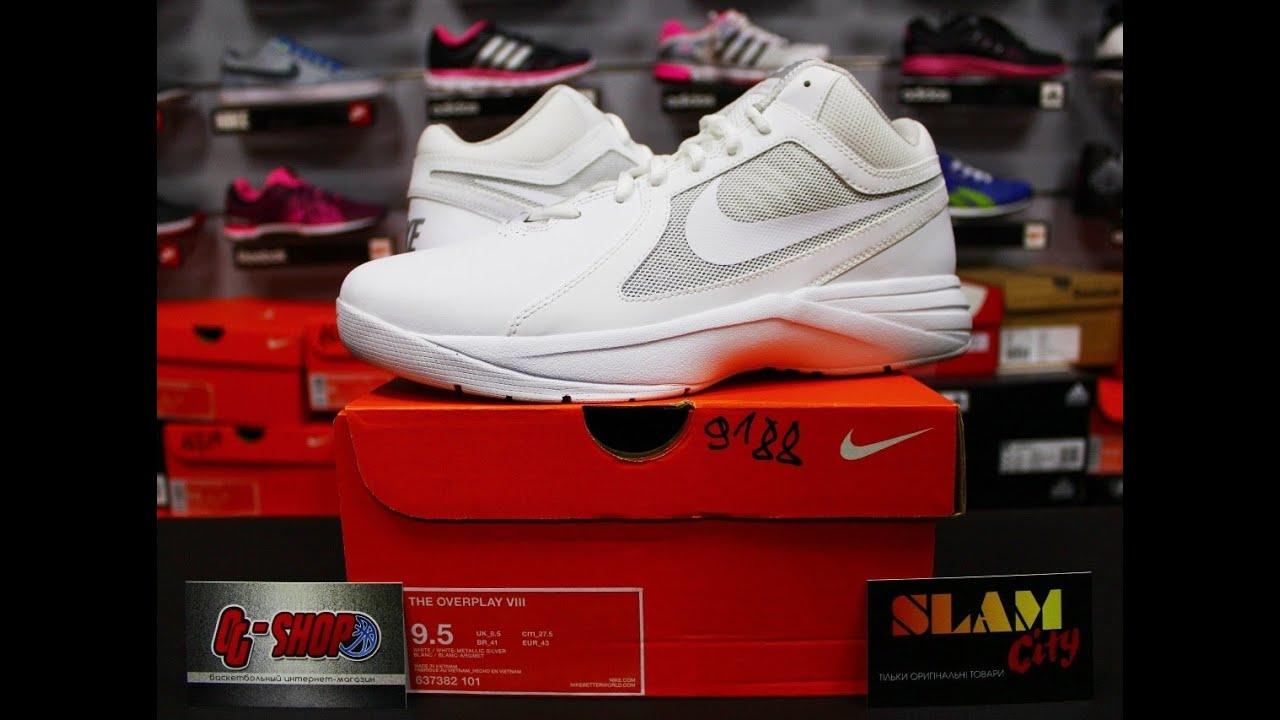 886dcfb2cefc Nike Overplay Vlll 8(637382-101) --- OG-SHOP.in.UA - YouTube