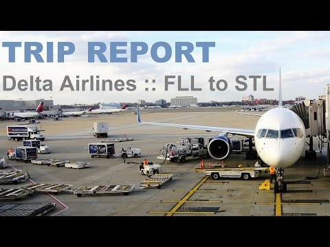 TRIP REPORT :: Delta Airlines Economy & Economy Comfort :: Ft. Lauderdale to St. Louis