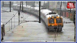 Heavy Rain Slows Mumbai Down