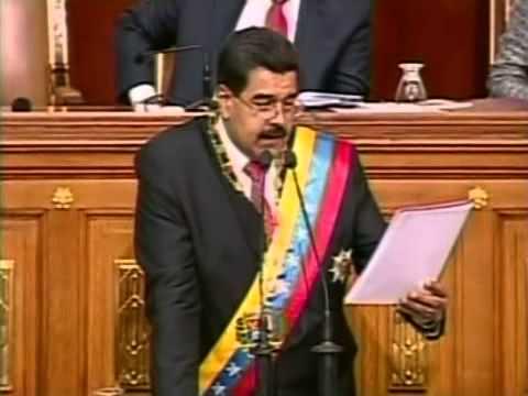 "Diosdado Cabello: ""A ti, a ti"" contra Julio Borges durante solicitud de Habilitante de Maduro"