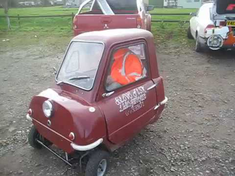 Nick Tries On A Peel P50 For Size