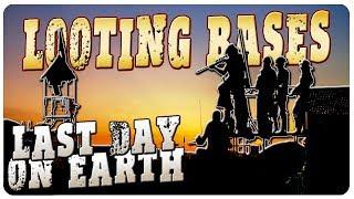 Raiding NPC Bases n 39 ACID BATH Building Last