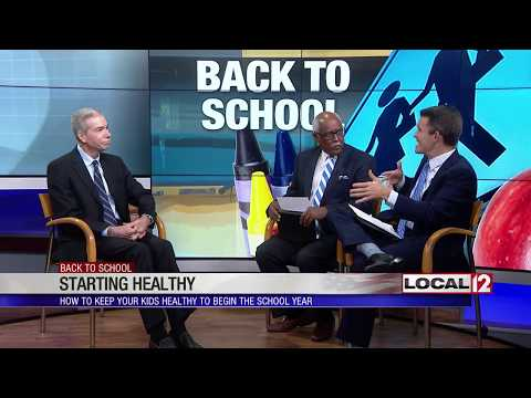 Back-to-school health tips for parents