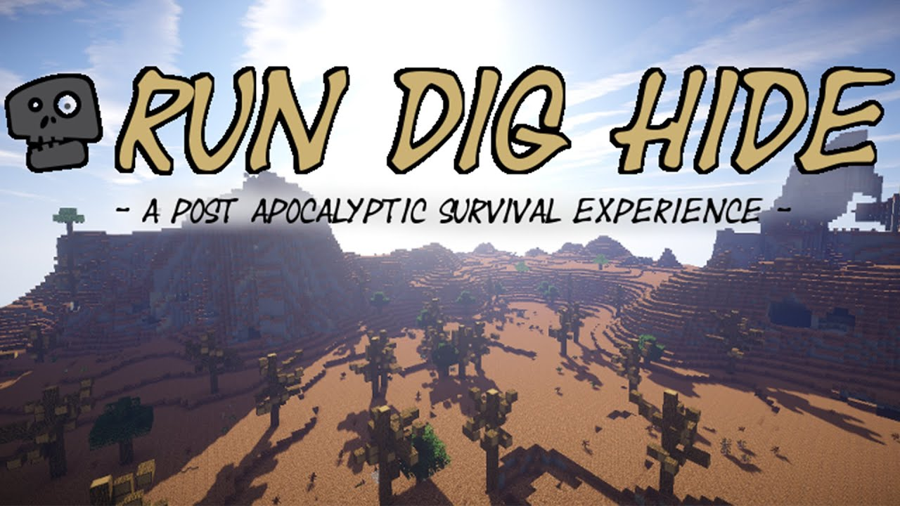 run dig hide post apocalyptic survival mod pack first look
