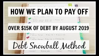 Our Debt Pay Off Plan | $15k of Debt Gone in 6 Months | Debt Snowball Method |