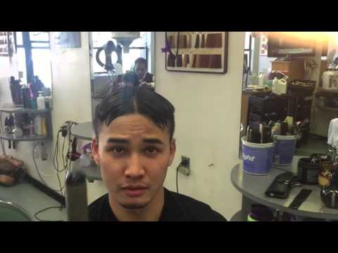 Haircut At New City One Salon Chinatown Nyc Timmy Thok Youtube
