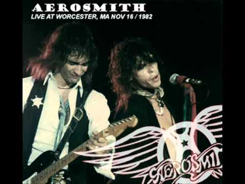 Aerosmith Rock In a Hard Place Worcester 1982