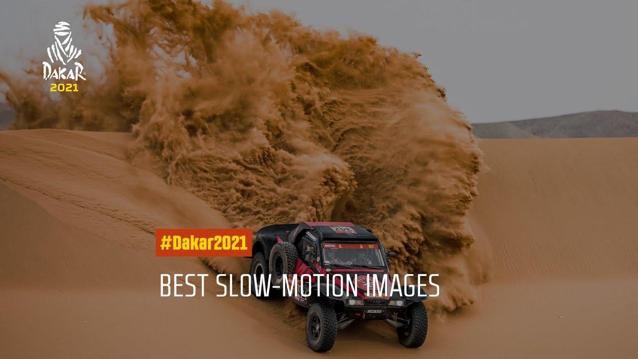 #Dakar2022 - Best slow-motion images!