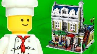 Animated Lego Parisian Restaurant 10243 Expert Creator Flash Speed Build