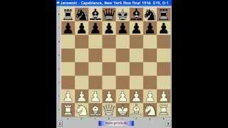 Шахматы. Капабланка 6. Славянская защита