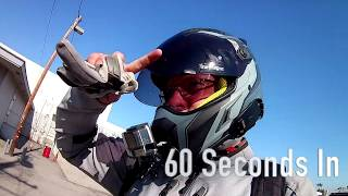 Gambar cover Klim Krios Pro Helmet w/ Koroyd 1 Month 2,500 Mile Review Two Words Cool & Light