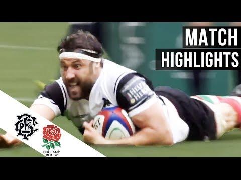 England v Barbarians 2017 highlights