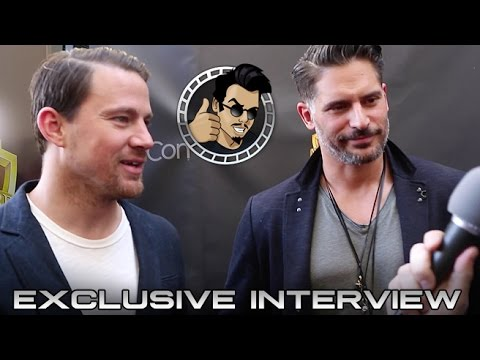 Cinemacon 2015: Channing Tatum, Joe Mangeniello Interview - Magic Mike XXL (HD) 2015