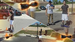 HOVERBOARD OBSTACLE RACE!! | FaZe Rug
