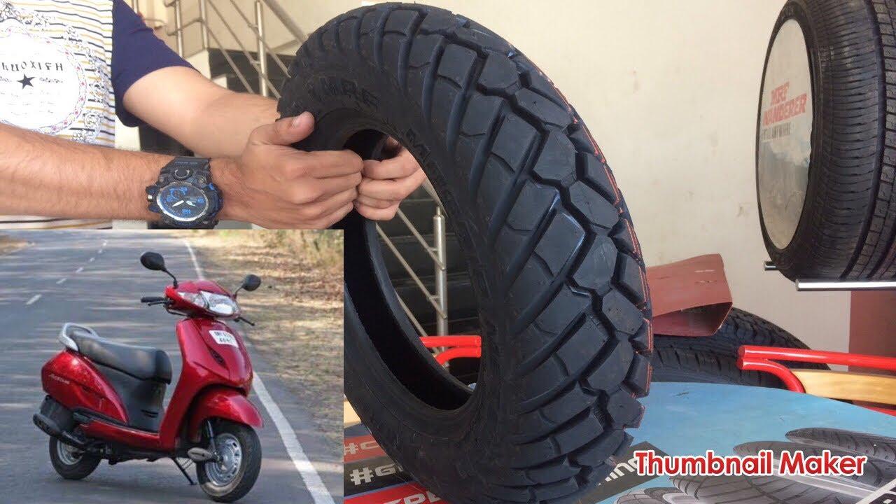 Best Tyre For Honda Activa Dio Access Burgman Aviator Fasino Mrf