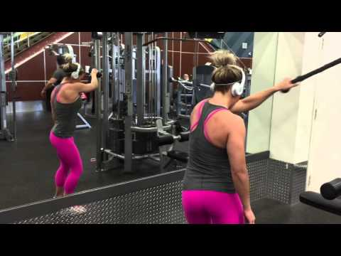 Calgary Personal Trainer Christine Jensen shows you how to turn your arms from Flab to Fab!