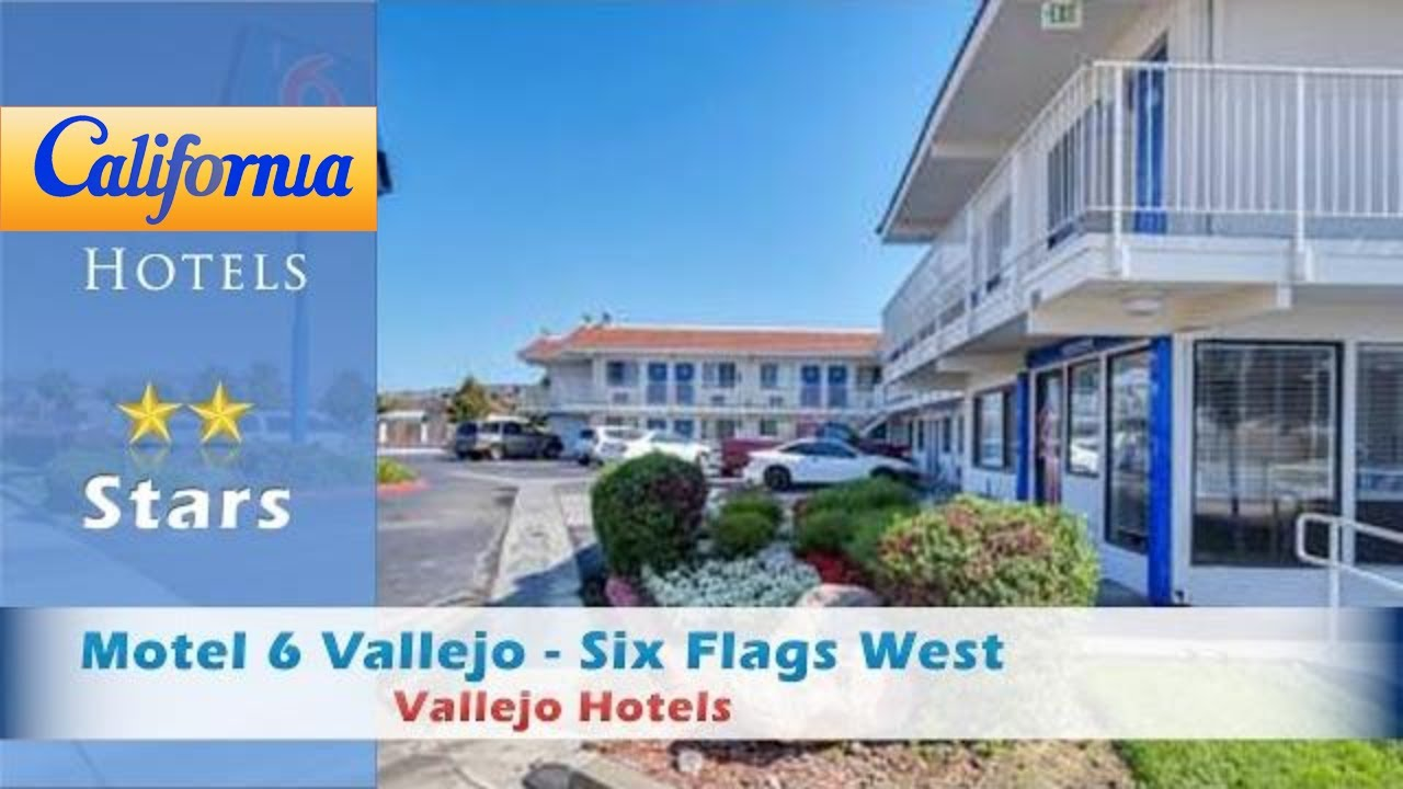 Motel 6 Vallejo Six Flags West Hotels California