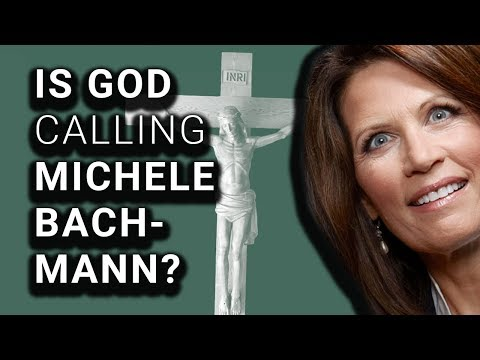 Michele Bachmann Asking God If She Should Run For Senate