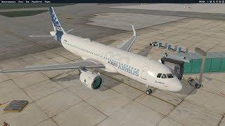 Из Праги в Софию на A320 NEO (LKPR-LBSF) X-Plane 11
